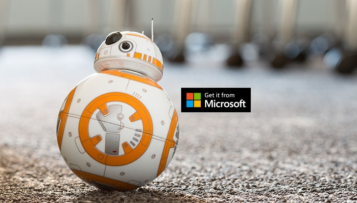 BB8 Windows Phone Windows 10 APP