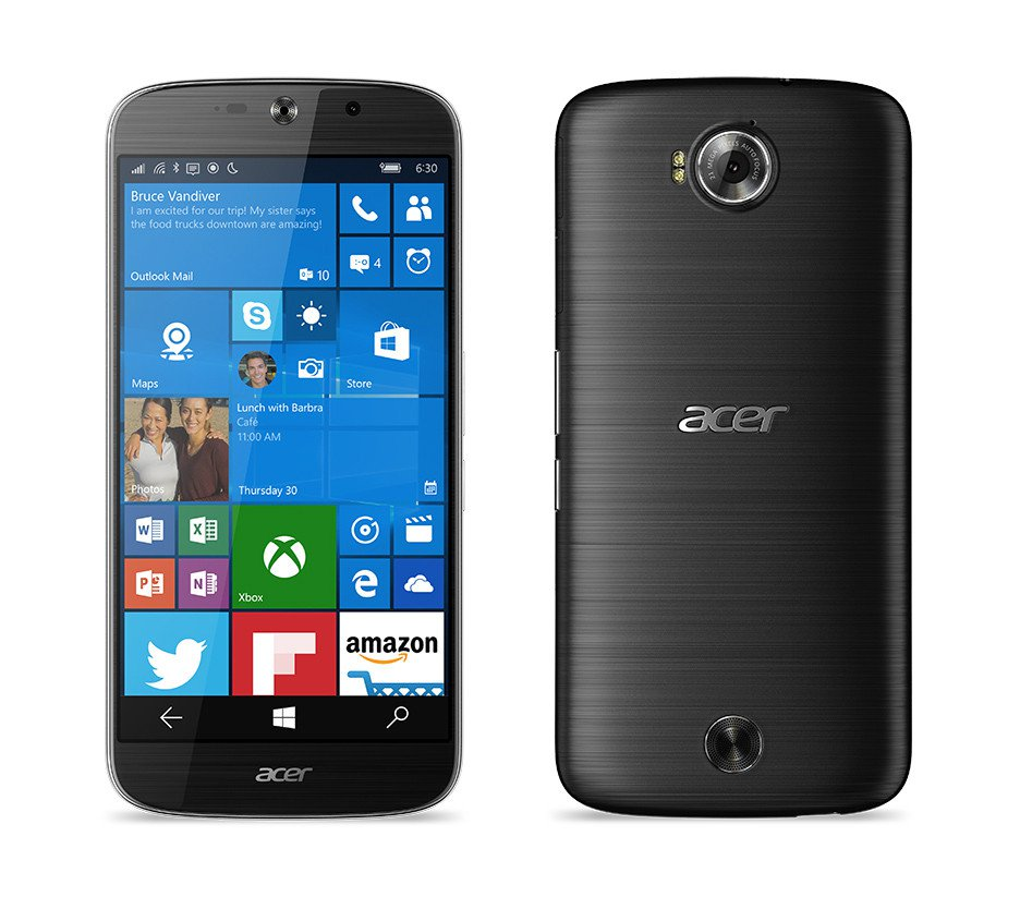 Acer Jade Primo com Windows 10 Mobile