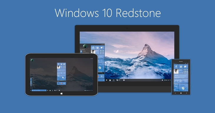 Conceito... Redstone para o Windows 10
