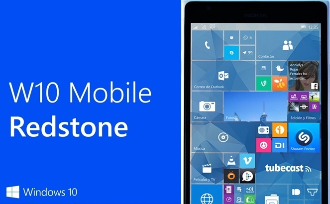 windows 10 mobile redstone update