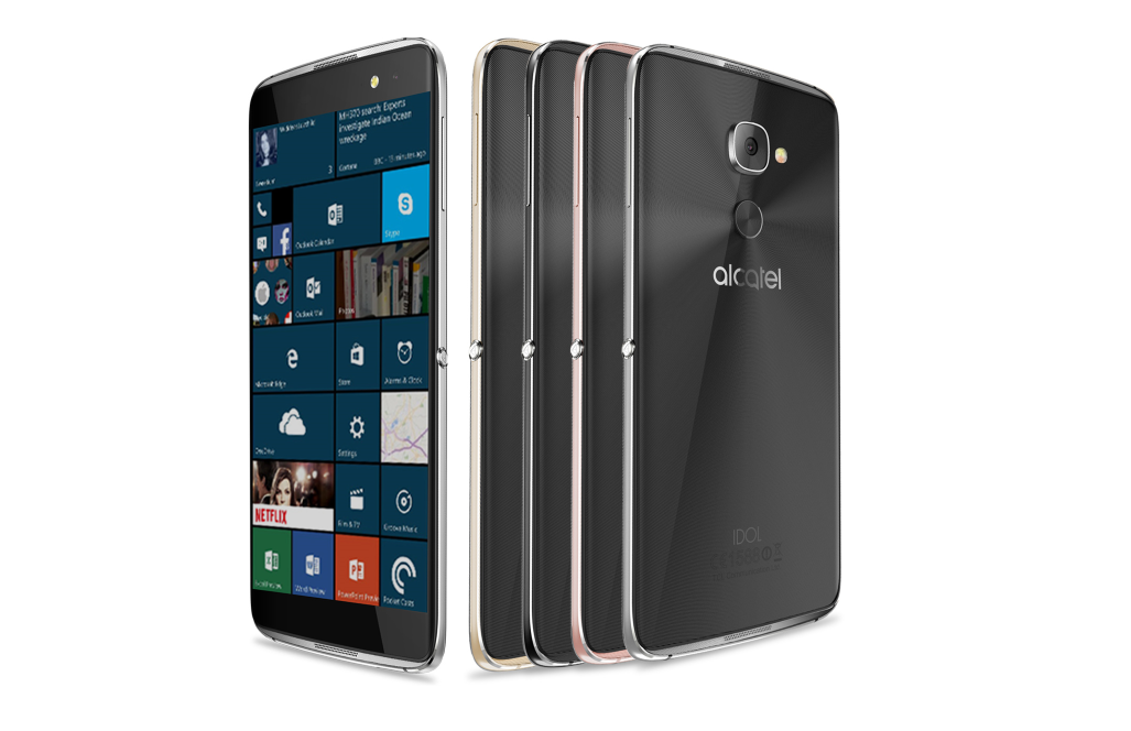 alcatel 4 pro windows 10 device
