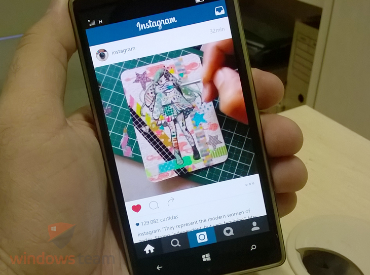 Novo Instagram para o Windows 10 Mobile