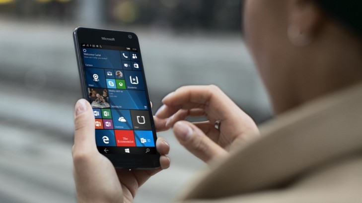 windows 10 mobile lumia