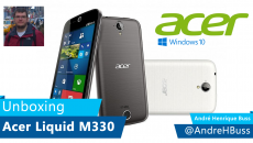 [Vídeo] Unboxing ACER Liquid M330