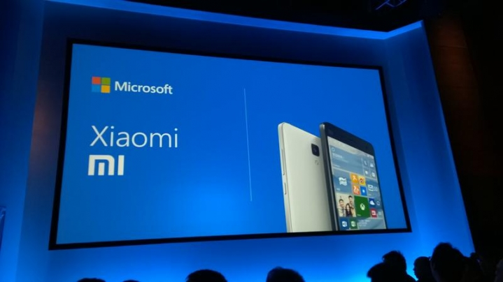 xiaomi mi4 windows 10 mobile microsoft