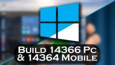 [Vídeo] Confira as novidades da build 14366 do Windows 10 e build 14364 do Windows 10 Mobile!