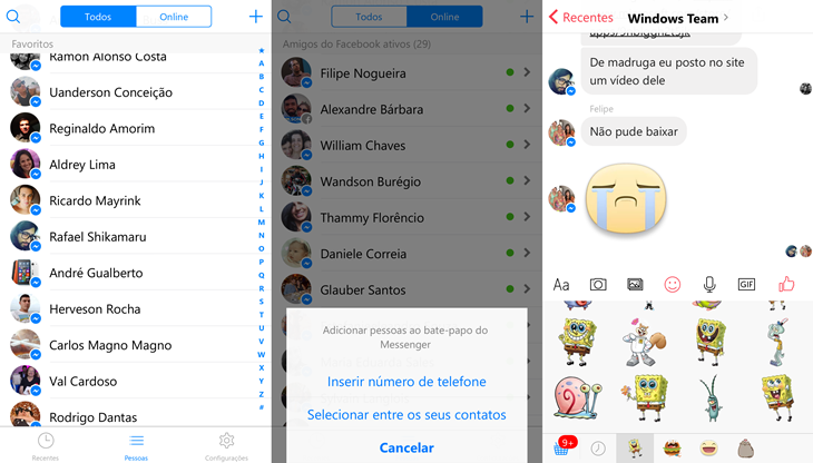 facebook messenger beta windows 10 mobile img4