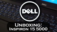 Unboxing: Dell Inspiron 15 5000 Special Edition