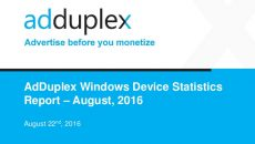 AdDuplex: Lumia 550 é modelo com Windows 10 mais usado e mais…