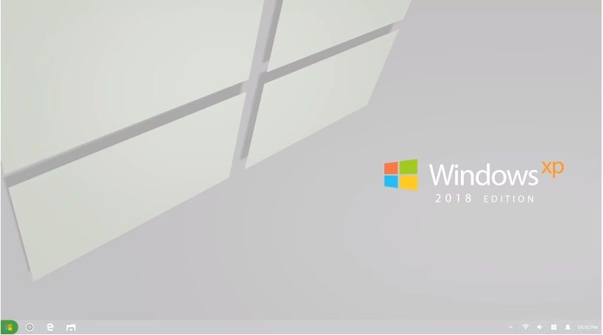 [Vídeo] Conheça o Windows XP 2018 Edition