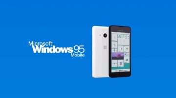 [#techmanja] Introduzindo o Windows 95 Mobile