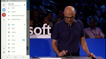 CEO da Microsoft demonstra o poder do Office em seu telefone Android