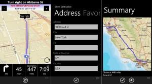 Alternatica de navegador GPS para WP7 turn-by-turn