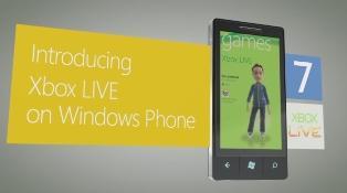 Windows Phone 7 é interação total com o Xbox 360