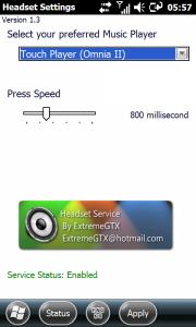 HeadSet permite controlar o Player de música com o botão do fone de ouvido