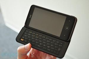 O HTC 7 Pro é um dos únicos WP7 com teclado Qwerty físico