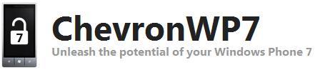 Ferramenta ChevronWP7 tem problema confirmado