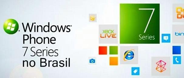 Brasil será o primeiro país da America Latina a receber o Windows Phone 7