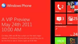 Windows Phone novo evento