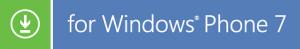 para windows phone 7 download