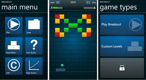 breakout para windows phone 7 jogos
