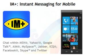 im+ para windows phone 7