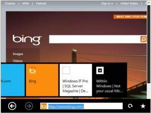 windows-8-novo internet explorer touch