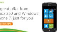 Interação entre o Xbox 360 e o Windows Phone 7