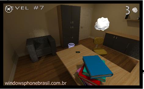 3d paperball windows phone 7