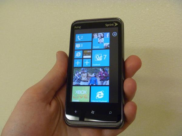 Interface metro windows phone conceito HTC