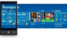Aplicativo da rede social Foursquare disponível para Windows Phone 7