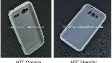 Vazam imagens de cases para o HTC Eternity e o Omega