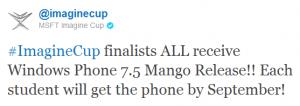 imaginecup mango em setembro
