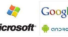 Microsoft ganha dinheiro até via Android da Google