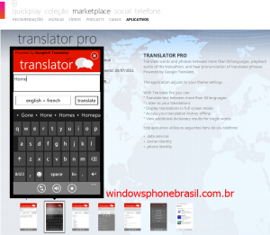 translator-pro windows phone google tradutor