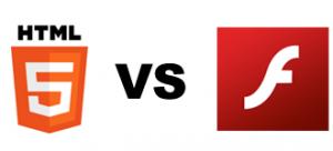 html5 vs adobe flash player