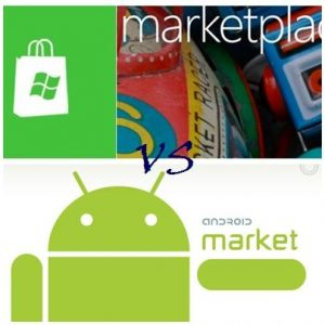 marketplace vs android market