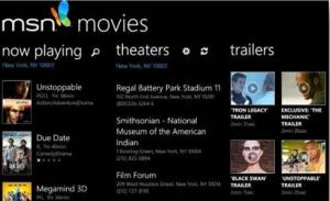 msn movie app windows phoen