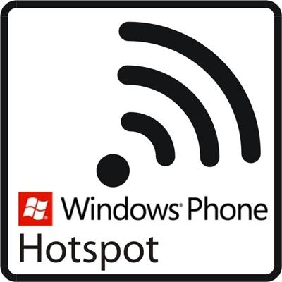 windows phone hotspot