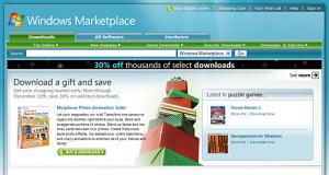 Marketplace do Windows Vista