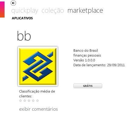 banco do brasil app for windows phone