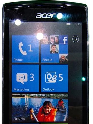 Acer W4 windows phone oficial