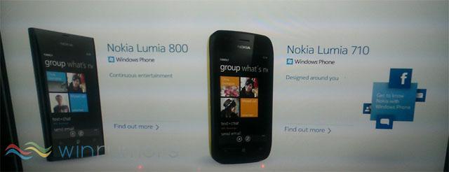 Vazam novas imagens sobre o Nokia Lumia 800 e o 710