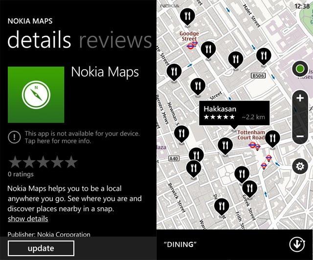 nokia map swp7