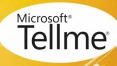 Conheçam o futuro do comano de voz da Microsoft o TellMe