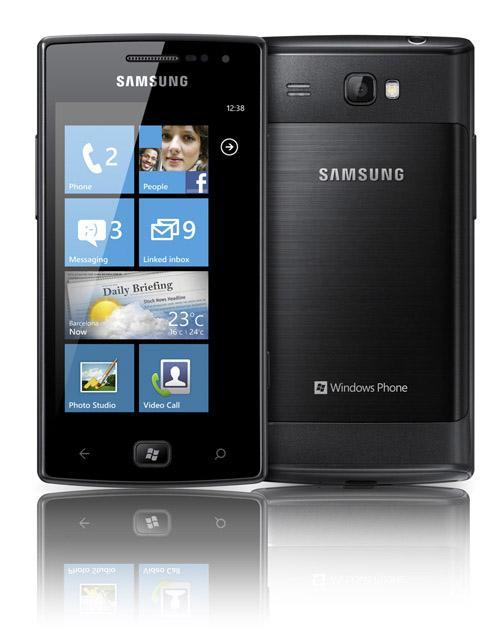 Samsung Omnia w primeira foto
