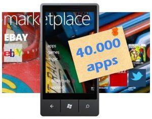 marketplace windows phone 40000