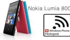 Nokia trabalha para liberar compartilhamento de internet em seus Windows Phone