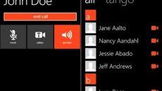 Aplicativo Tango para vídeo chamadas no Windows Phone já está disponível na Marketplace