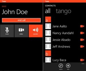 tango app windows phone prints